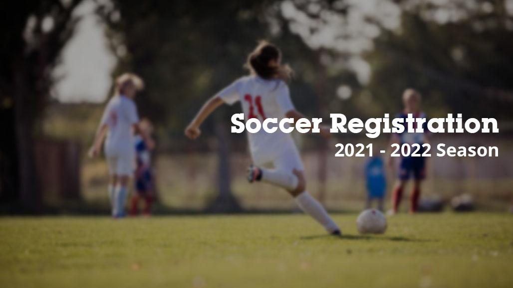 Soccer Registration Opens June 14th.