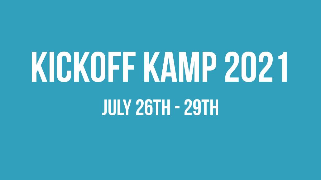 Kickoff Kamp 2021